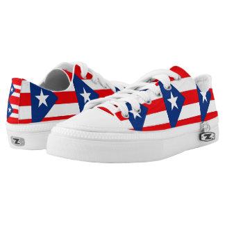 Puerto Rico Low-Top Sneakers