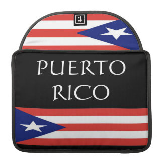 Puerto Rico Sleeves For MacBook Pro