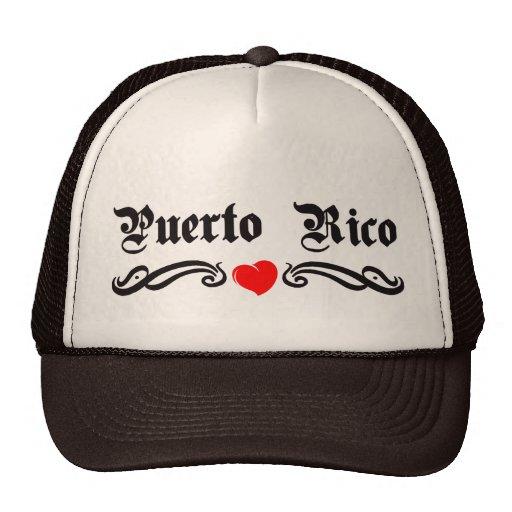 Puerto Rico Mesh Hat