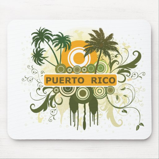Puerto Rico Mouse Pads