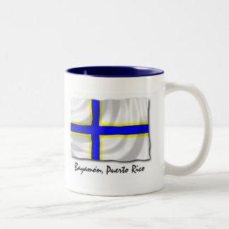 Puerto Rico Mug: Bayamon Two-Tone Coffee Mug