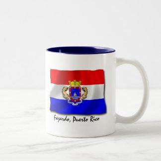 Puerto Rico Mug: Fajardo Two-Tone Coffee Mug