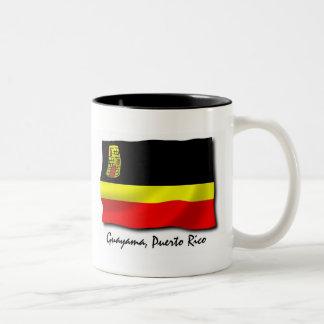 Puerto Rico Mug: Guayama Two-Tone Coffee Mug