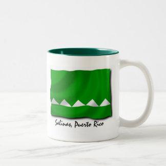 Puerto Rico Mug: Salinas Two-Tone Coffee Mug