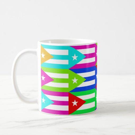 Puerto Rico Multihue Flags Mug