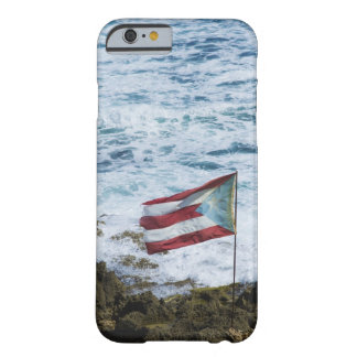 Puerto Rico, Old San Juan, flag of Puerto rice Barely There iPhone 6 Case