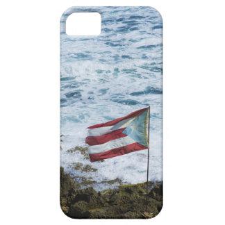 Puerto Rico, Old San Juan, flag of Puerto rice iPhone SE/5/5s Case