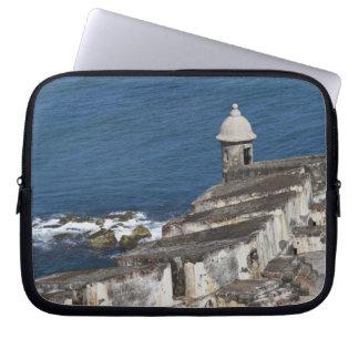 Puerto Rico, Old San Juan, section of El Morro Laptop Computer Sleeves