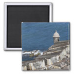 Puerto Rico, Old San Juan, section of El Morro Refrigerator Magnet