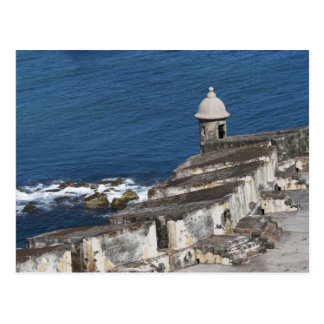 Puerto Rico, Old San Juan, section of El Morro Postcard