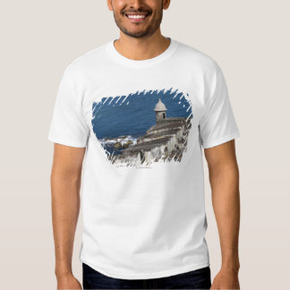 Puerto Rico, Old San Juan, section of El Morro T-shirts