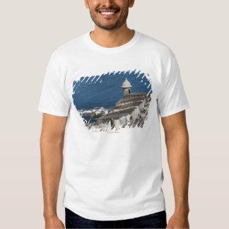 Puerto Rico, Old San Juan, section of El Morro Tee Shirt