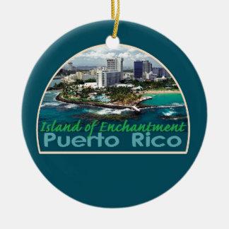 PUERTO RICO Orament Ceramic Ornament