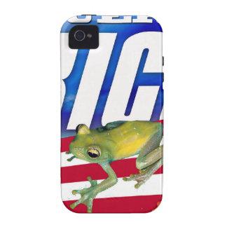 Puerto Rico, orgullo puertorriqueño Vibe iPhone 4 Carcasa