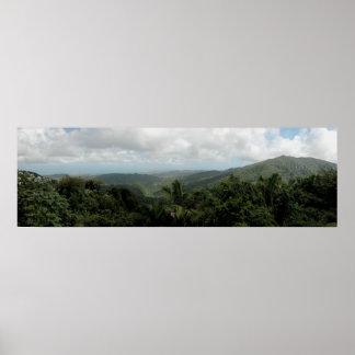 Puerto Rico Panoramic 11 Poster