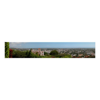 Puerto Rico Panoramic 12 Poster