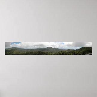 Puerto Rico Panoramic 14 Print