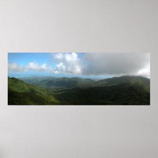 Puerto Rico Panoramic 9 Print