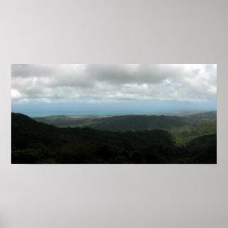 Puerto Rico Panormaic 6 Print