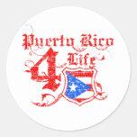 Puerto Rico para la vida Pegatina Redonda