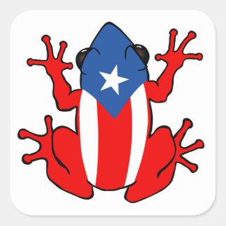 Puerto Rico - pegatina de Coqui