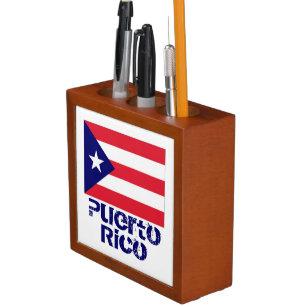 Puerto Rico Pencil Holder