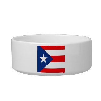 Puerto Rico Cat Water Bowl