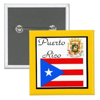 puerto rico pin button