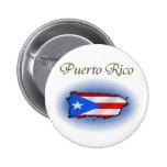 Puerto Rico Pin Redondo 5 Cm