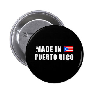 PUERTO RICO PIN REDONDO DE 2 PULGADAS