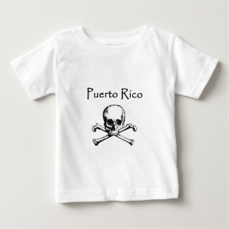 Puerto Rico Pirates Logo (Jolly Roger) Infant T-shirt