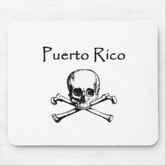 Puerto Rico Pirates Logo (Jolly Roger) Mouse Pad