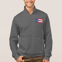 Puerto Rico Plain Flag Jacket