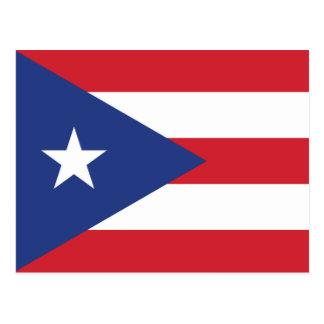 Puerto Rico Plain Flag Postcard