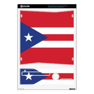 Puerto Rico Plain Flag Skins For The Xbox 360 S