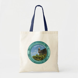 Puerto Rico Porthole Budget Tote Bag