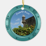 Puerto Rico Porthole Ornament