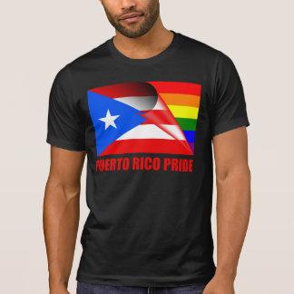 Puerto Rico Pride LGBT Rainbow Flag Tee Shirt