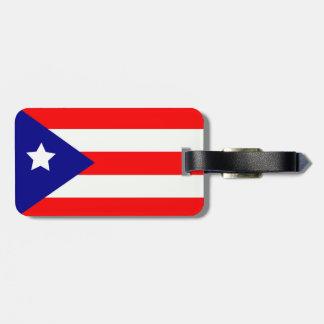 Puerto Rico Pride Tag For Luggage