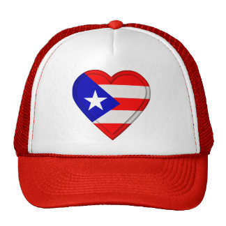 Puerto Rico Puerto Rican flag Trucker Hat