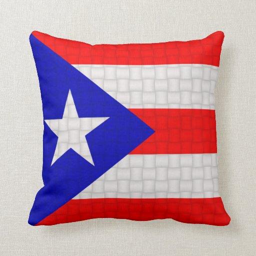 Puerto Rico Puerto Rican Flag Pillows Zazzle