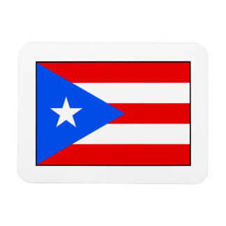 Puerto Rico – Puerto Rican Flag Rectangular Photo Magnet
