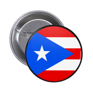 Puerto Rico quality Flag Circle 2 Inch Round Button