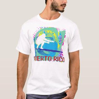 Puerto Rico que practica surf Playera