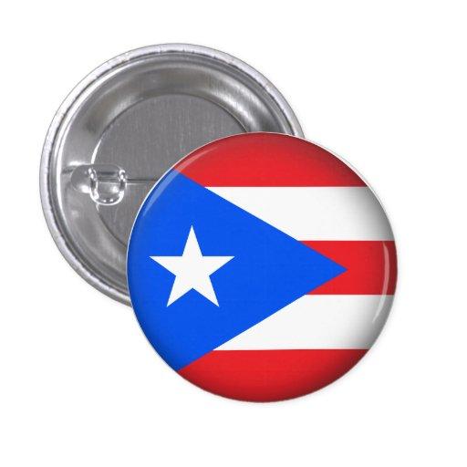 Puerto Rico redondo Pins
