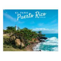 Puerto Rico, Ricon, El Faro Postcard