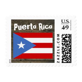 Puerto Rico: Rustic Stamp