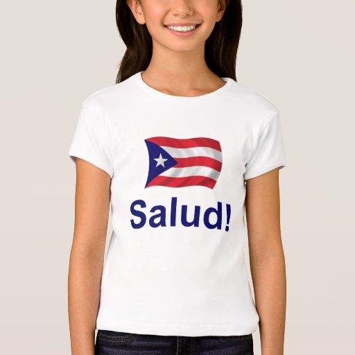 ¡Puerto Rico Salud! Playera