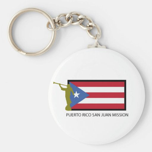 PUERTO RICO SAN JUAN MISSION LDS CTR KEYCHAIN