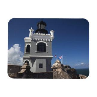 Puerto Rico, San Juan, Old San Juan, El Morro Rectangular Photo Magnet